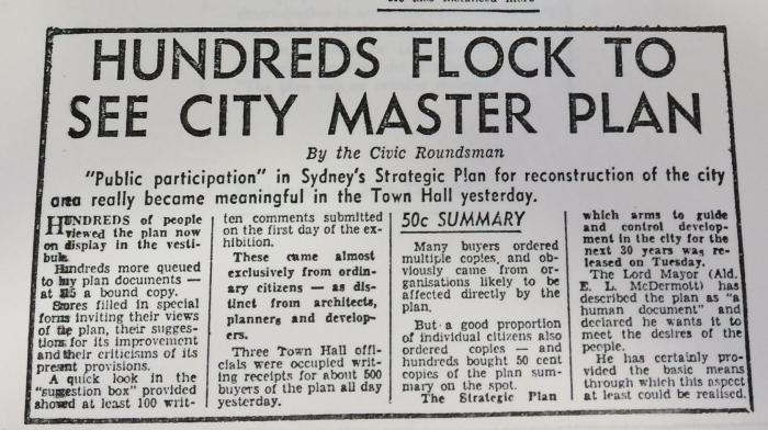 Media coverage from 1971