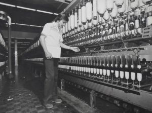 Manufacturing at the Pendle Hill Bonds site in 1974
